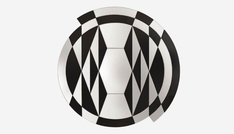 Gallotti&Radice Black&White Beat Mirror