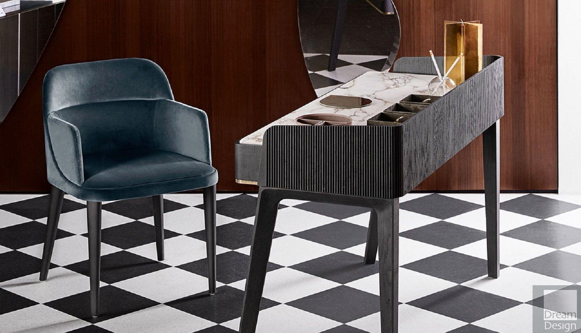 gallotti radice soho vanity desk everything but ordinary. Black Bedroom Furniture Sets. Home Design Ideas