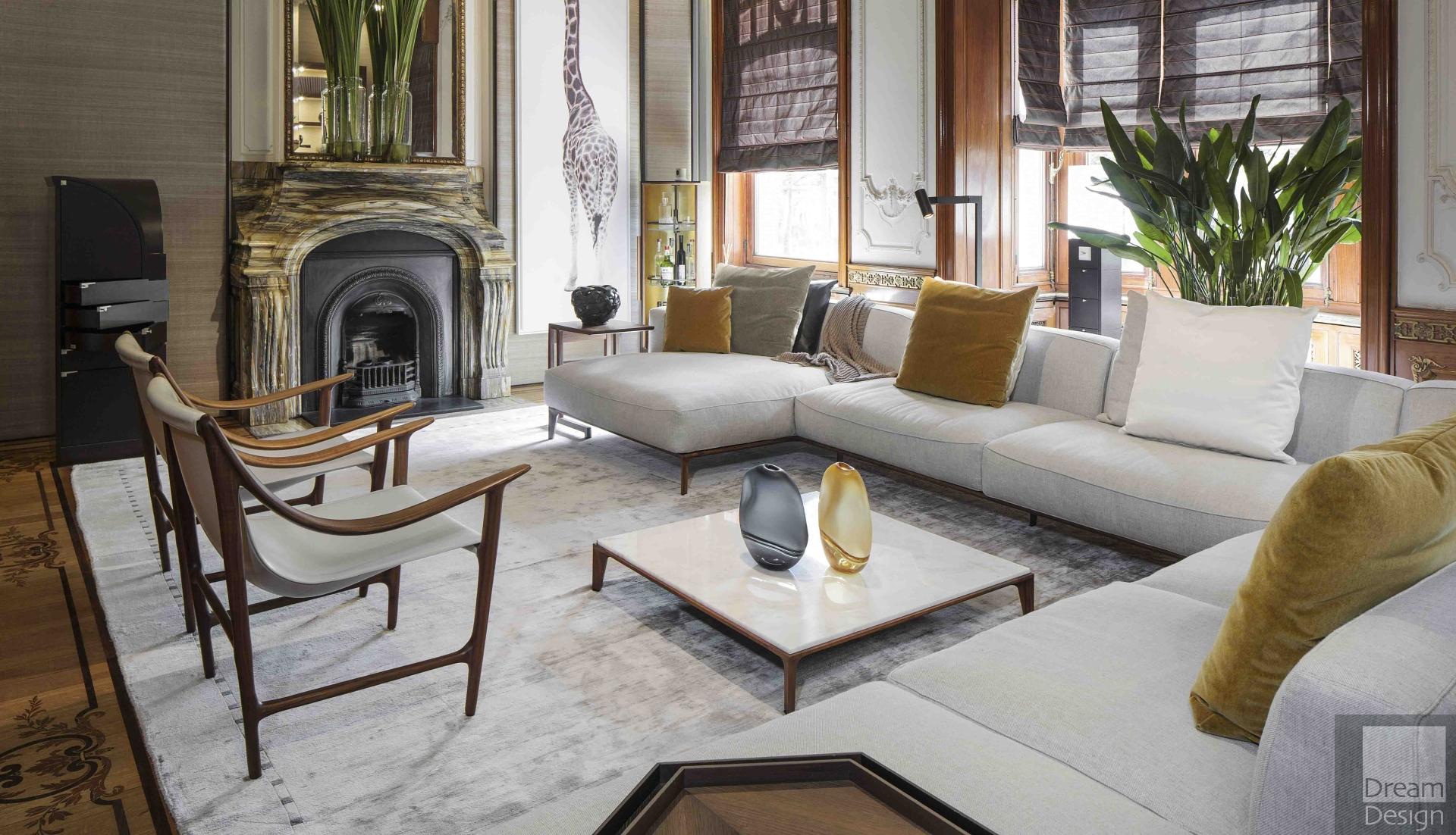 Giorgetti Aton Corner Sofa