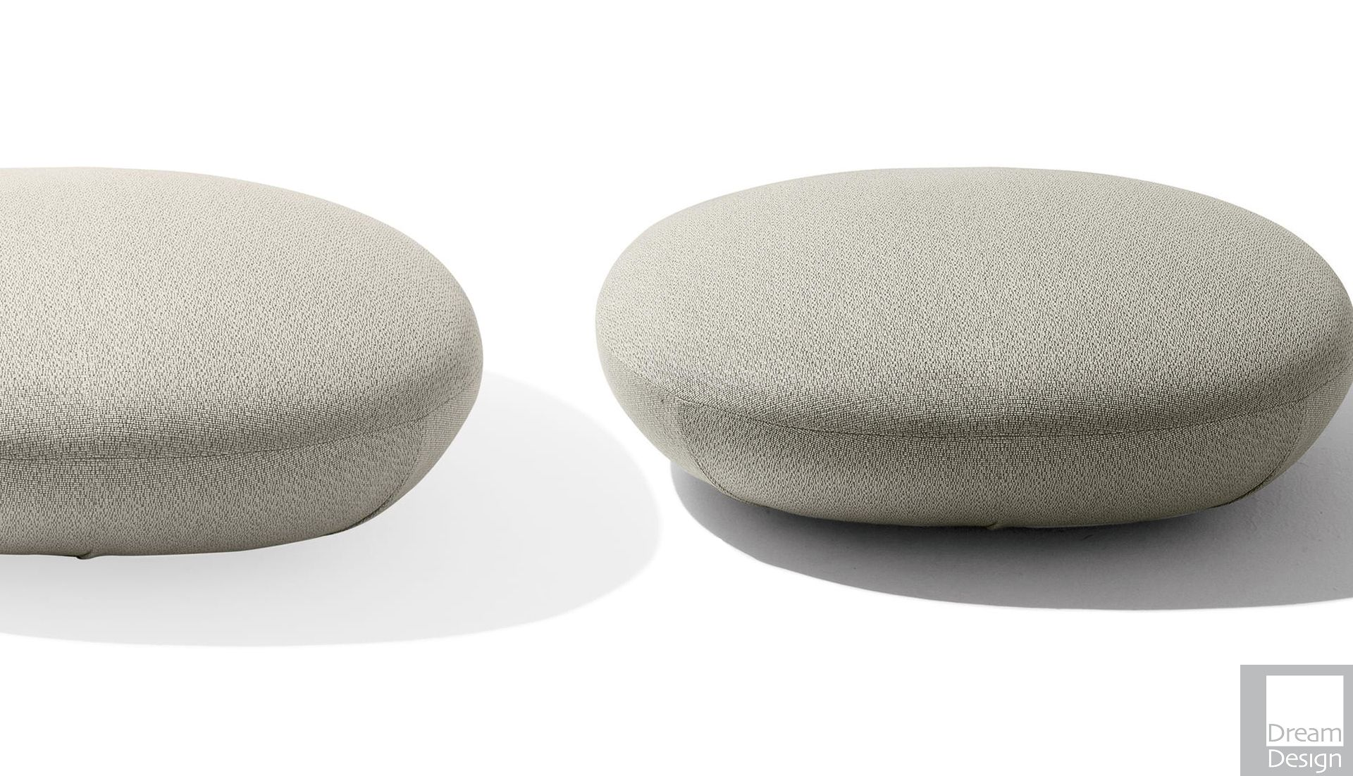 Level Design Pouf.Giorgetti Galet Stool Pouf Everything But Ordinary
