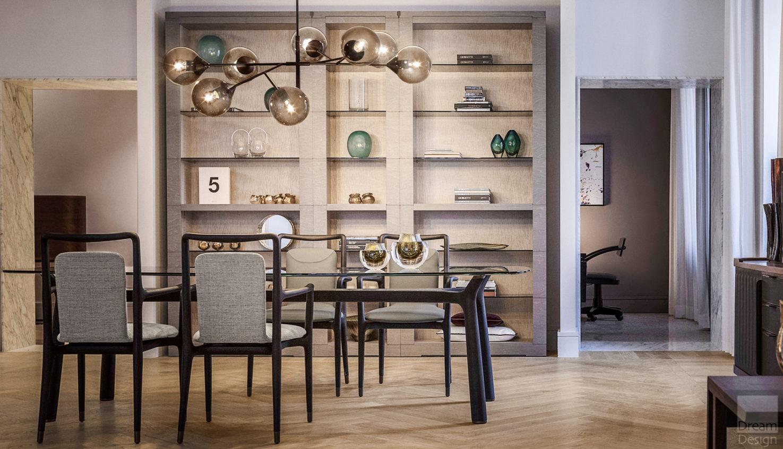Giorgetti Memos Rectangular Table