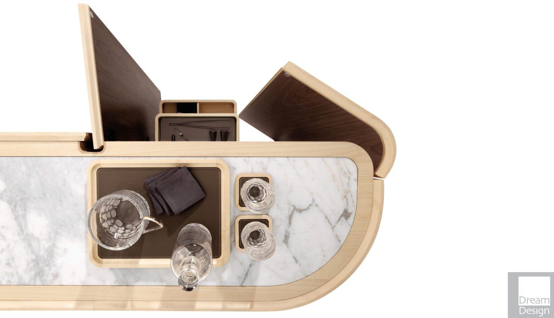 Giorgetti Moore Bar Cabinet