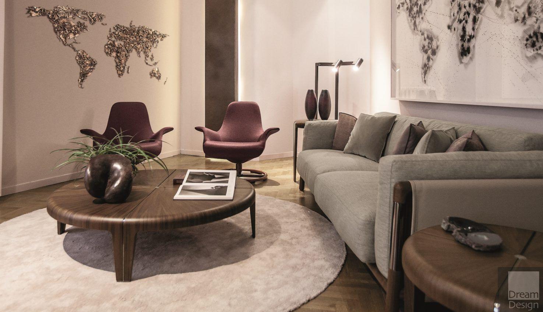 Giorgetti tilt armchair