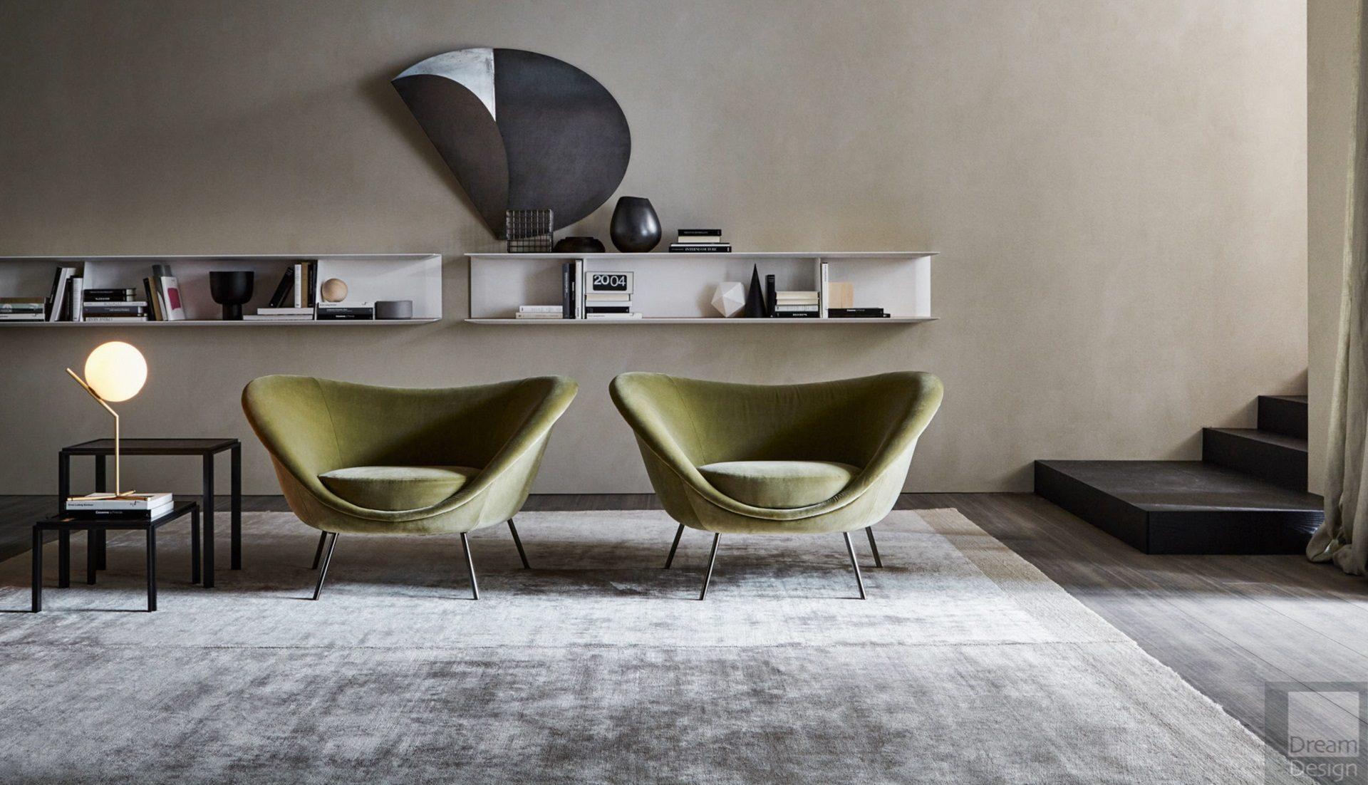 Molteni&C Gio Ponti D.154.2 Armchair
