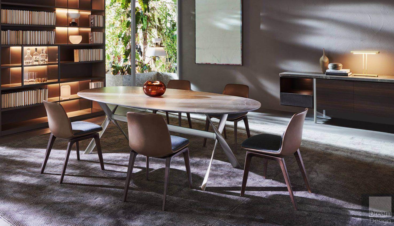 Molteni&C Gatwick Marble Table