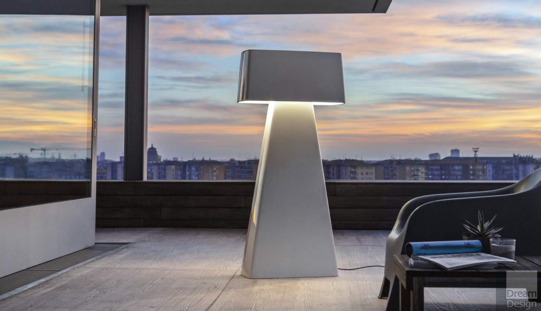 Penta Bag Outdoor Floor Lamp