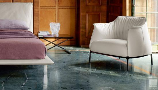 Poltrona Frau Archibald armchair