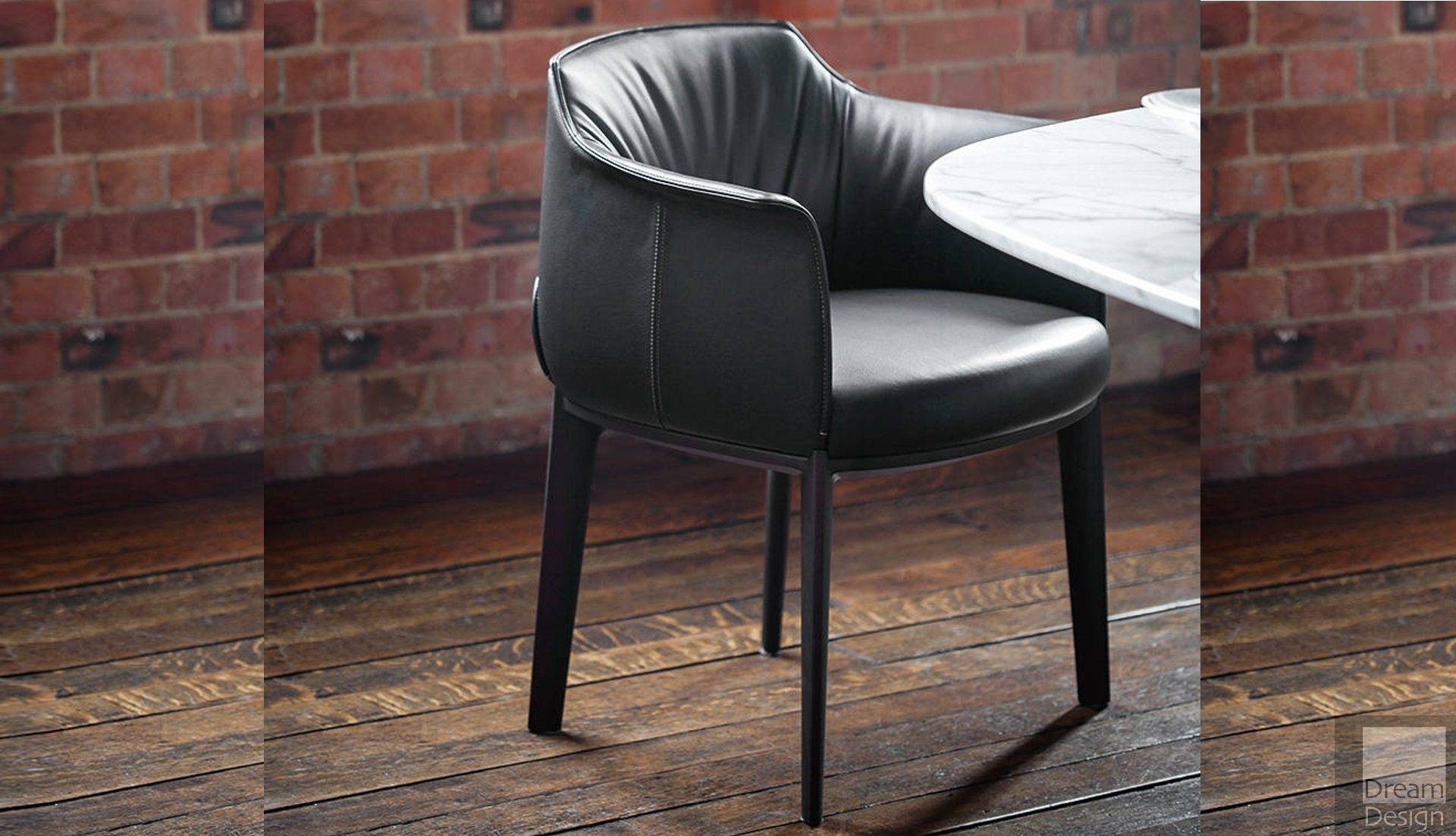 Poltrona Frau Archibald Dining Chair by Jean-Marie Massaud ...