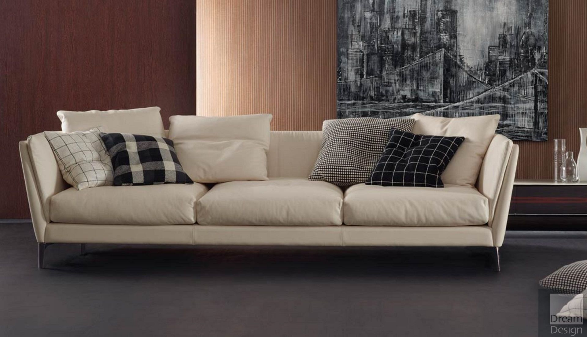 Poltrona Frau Bretagne Three Seater Sofa - Everything But Ordinary