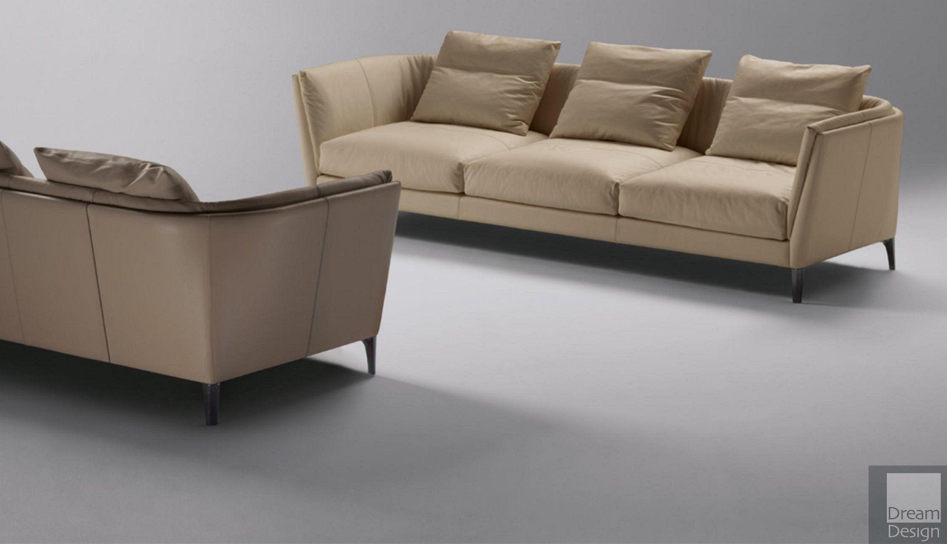 Poltrona Sofa.Poltrona Frau Bretagne Three Seater Sofa Everything But Ordinary