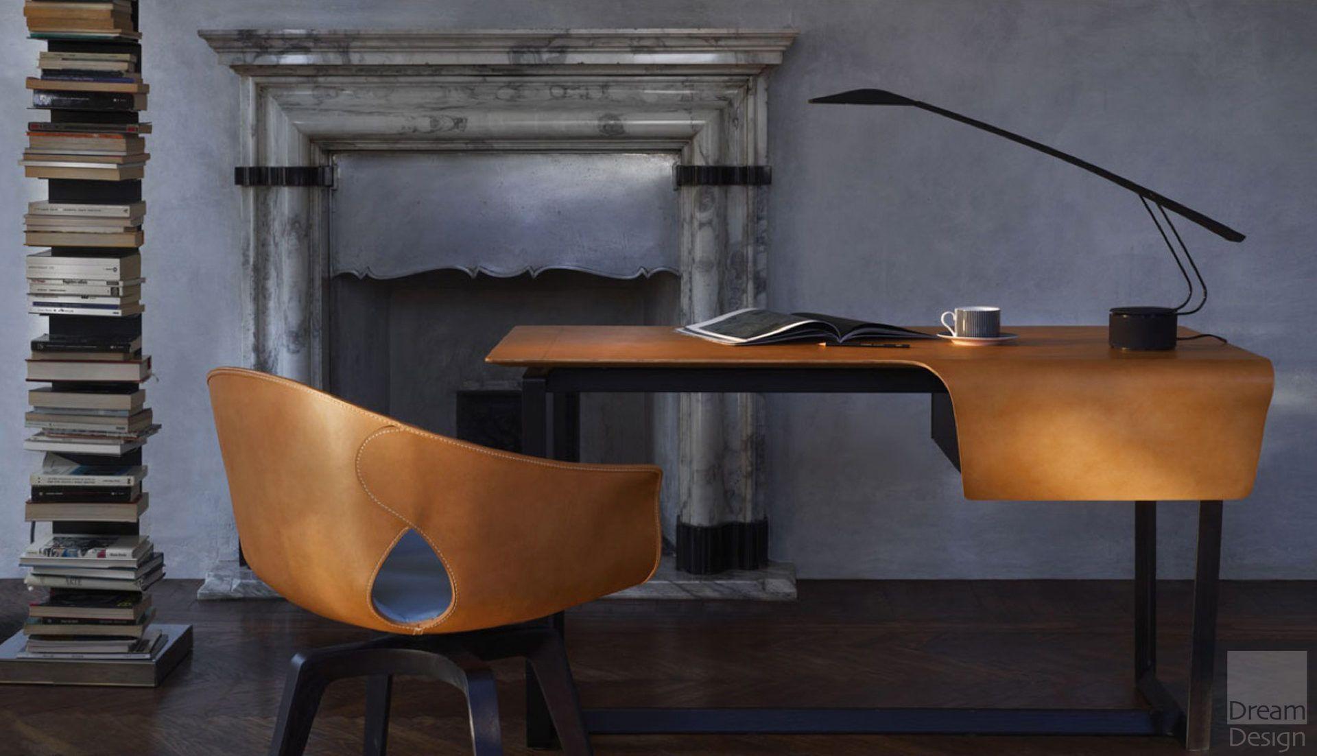 Poltrona Design.Poltrona Frau Fred Desk By Roberto Lazzeroni Everything But Ordinary