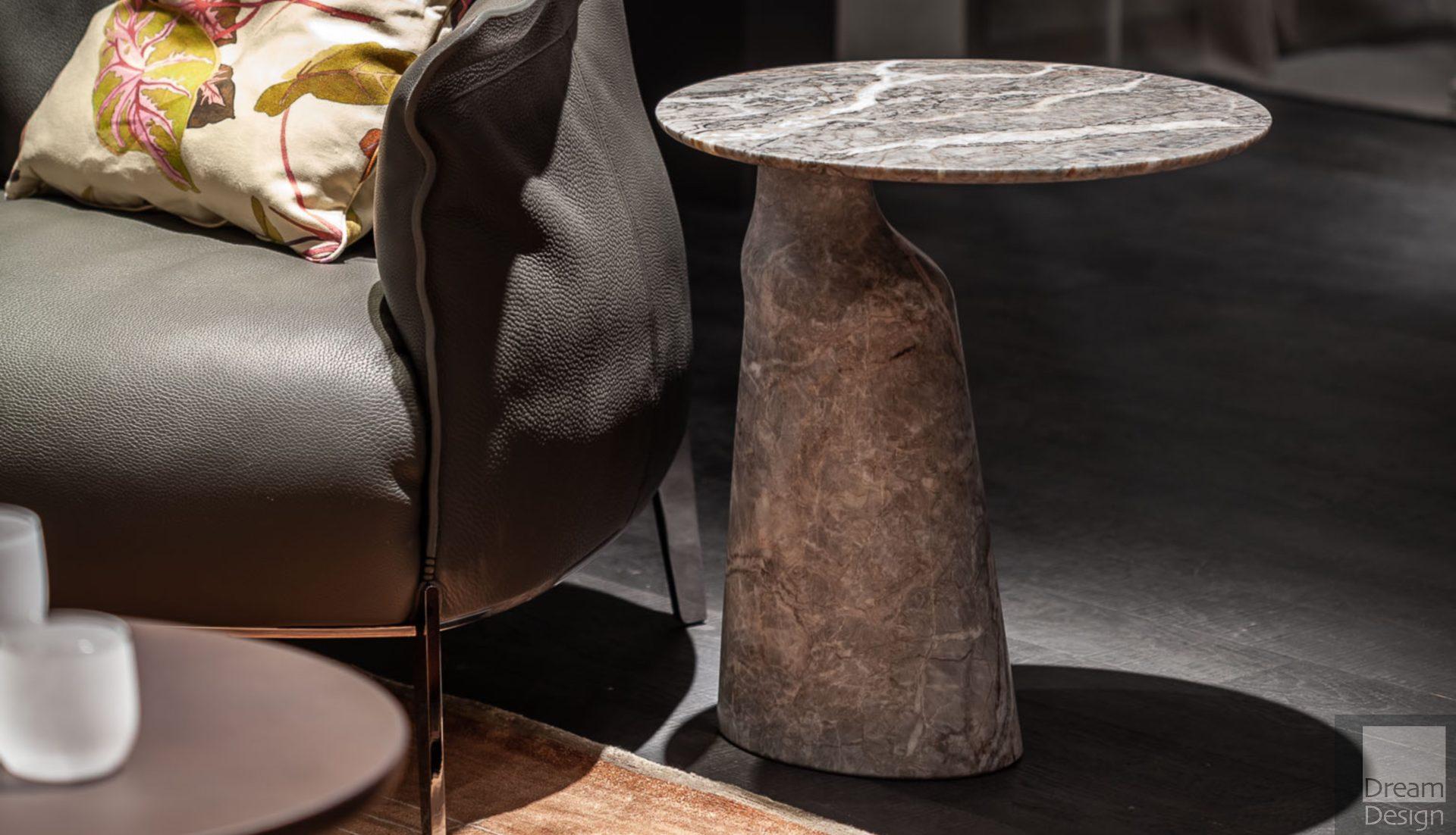 Poltrona Frau Ilary Monolithic Side Table