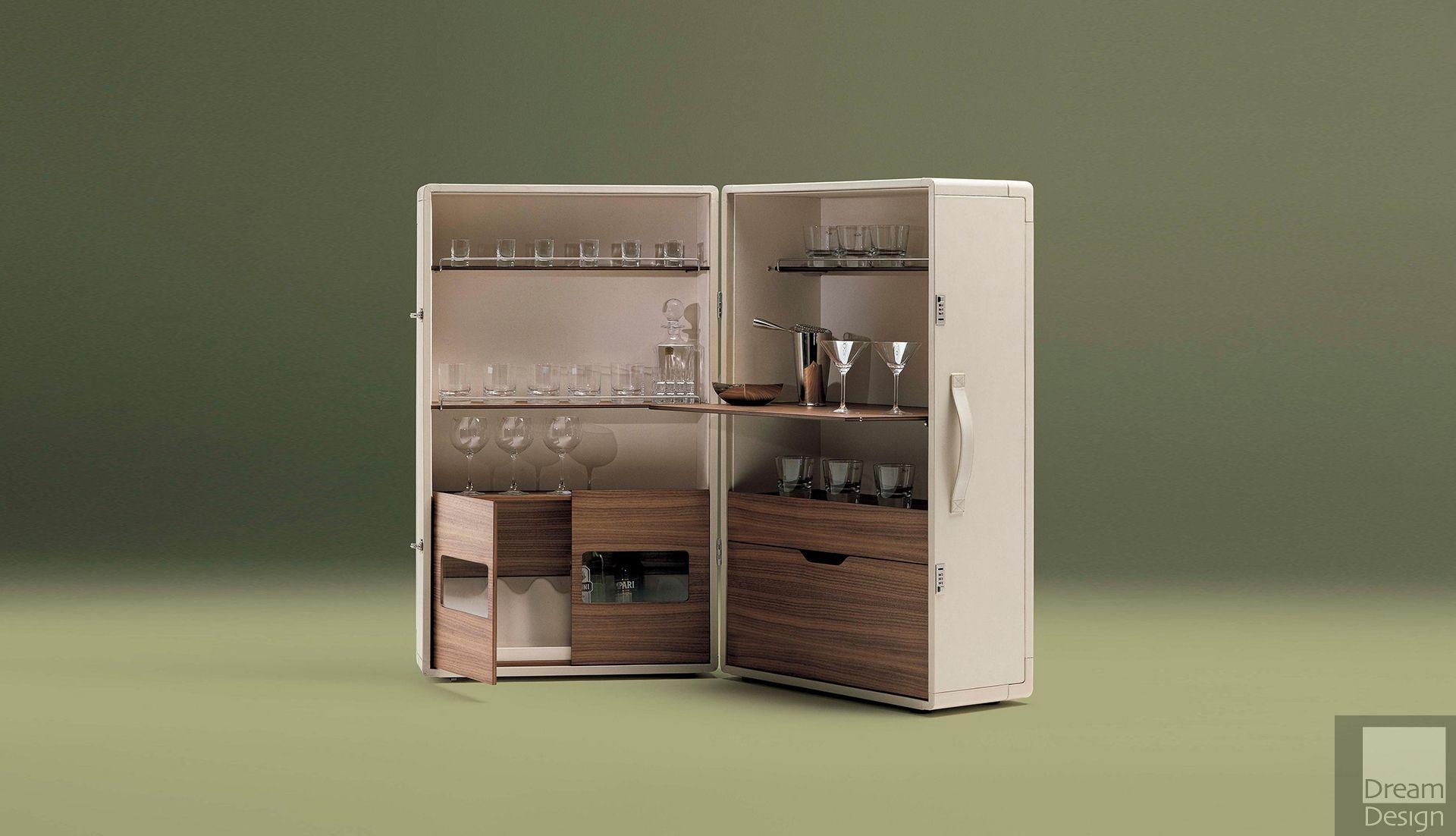 Poltrona Frau Isidoro Drinks Cabinet By Jean Marie Massaud