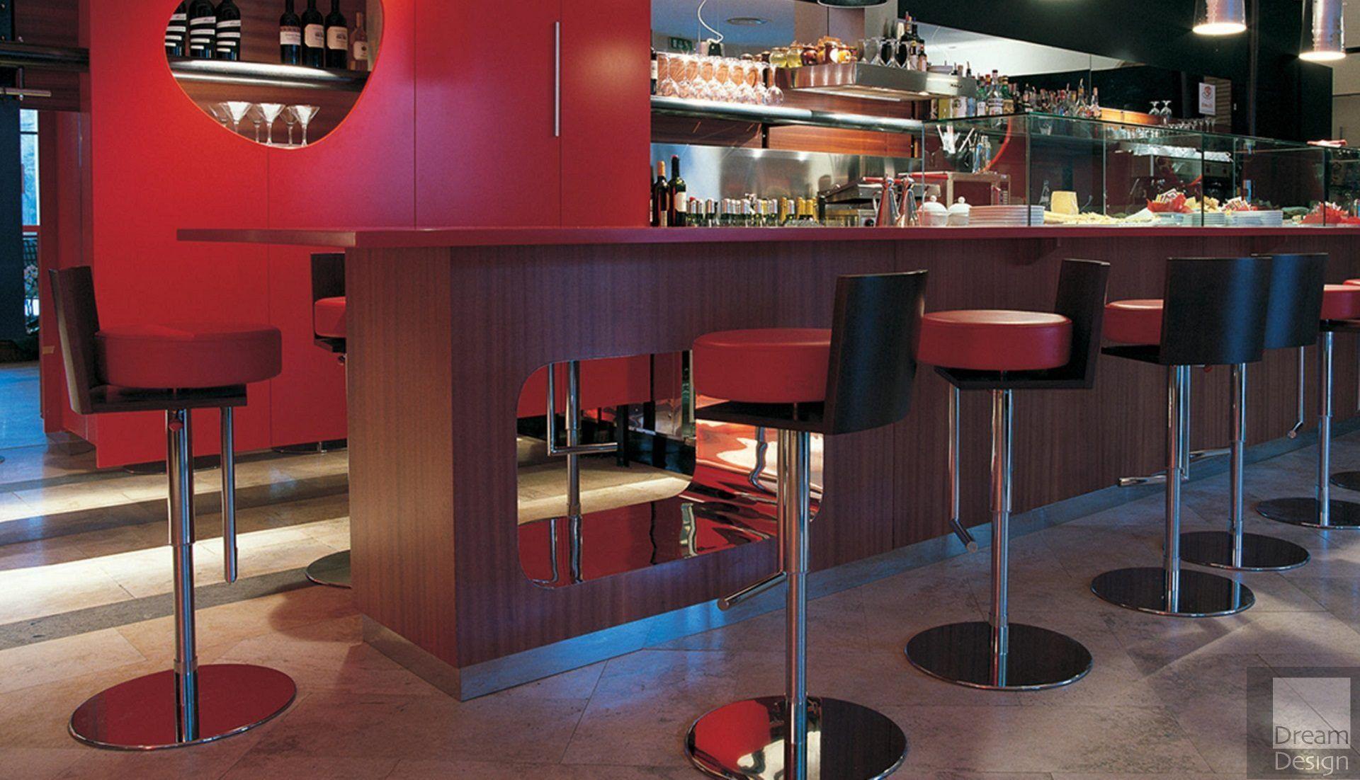 Poltrona Frau Le Spighe Bar Stool