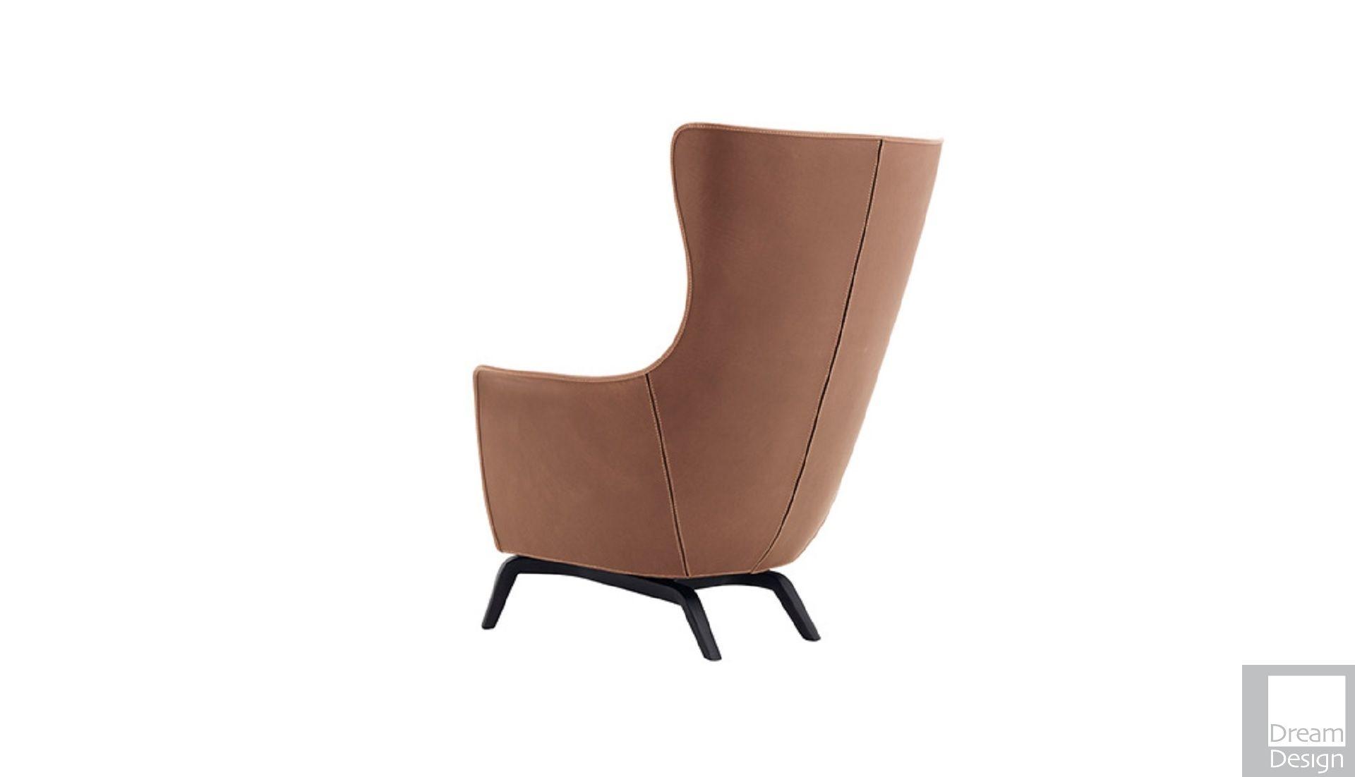 poltrona frau mamy blue armchair by roberto lazzeroni ebo. Black Bedroom Furniture Sets. Home Design Ideas