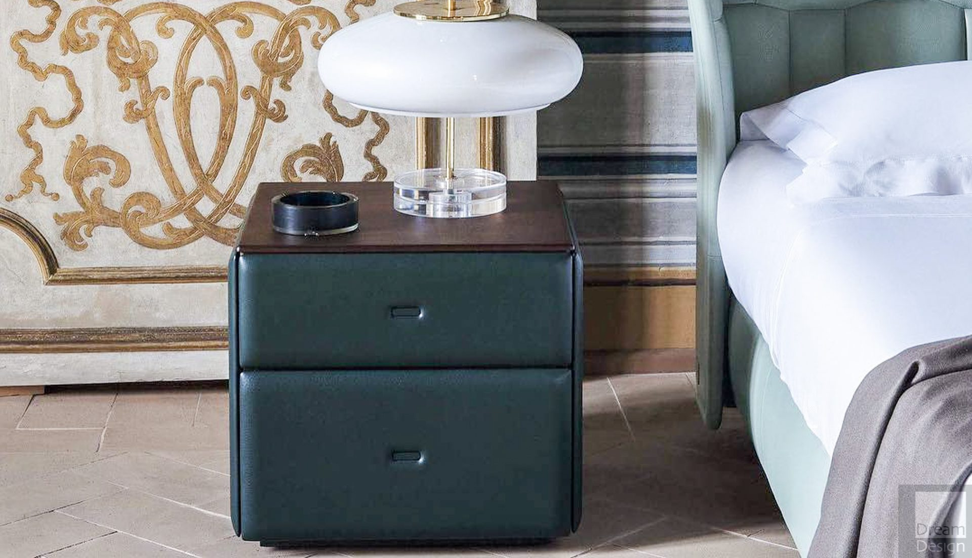 Poltrona Frau Moondance Bedside Cabinet