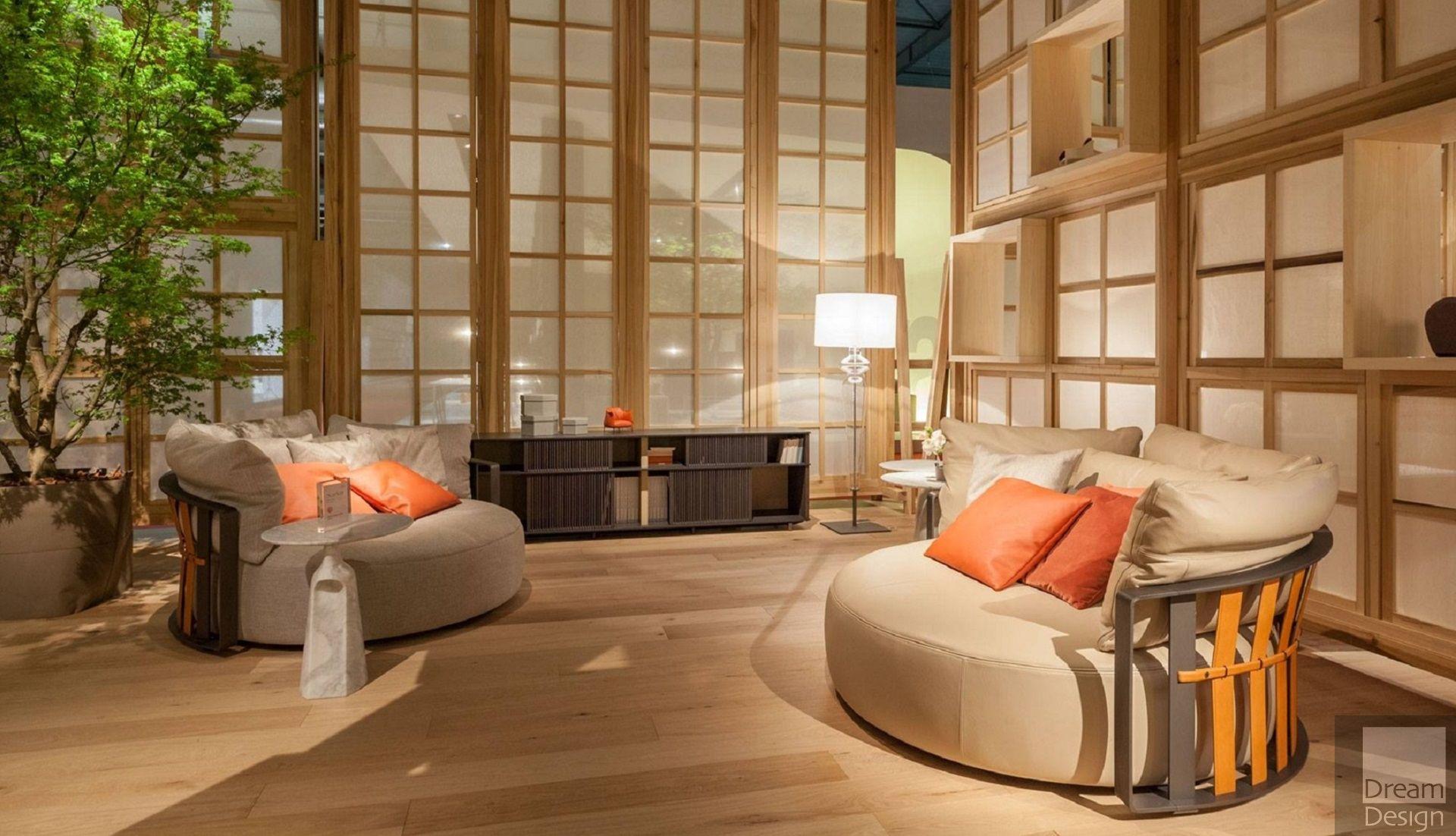 Poltrona frau scarlett sofa by jean marie massaud ebo for Poltronafrau