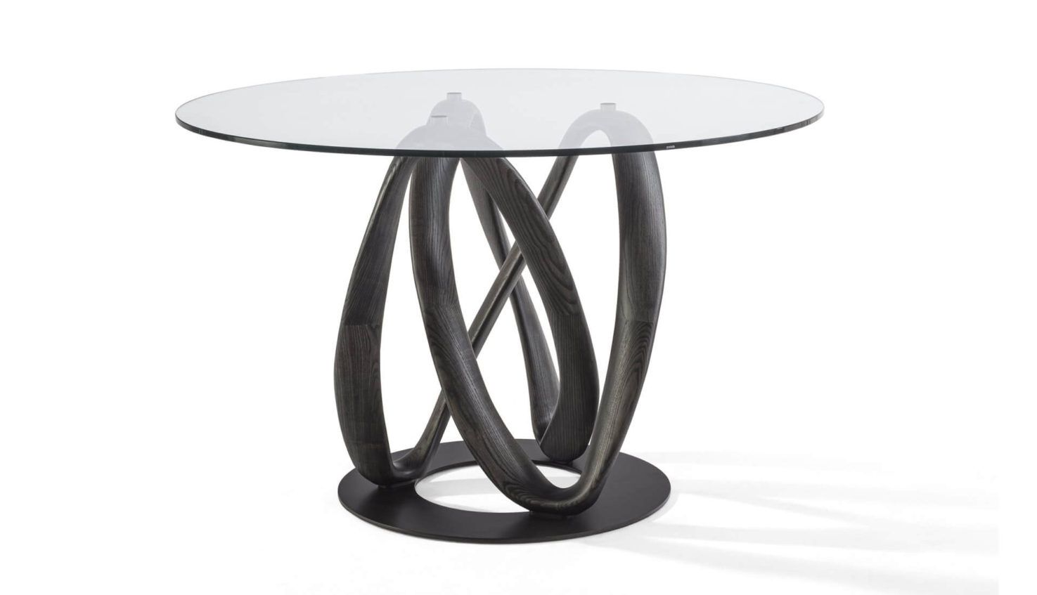 Infinity Round Glass Table