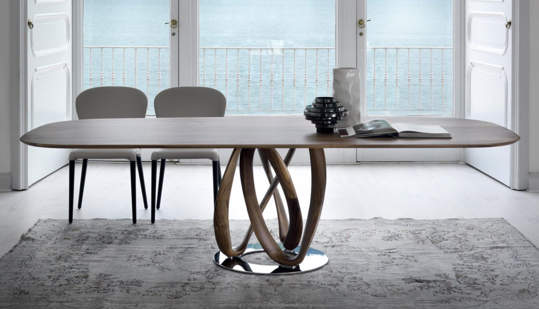 Infinity Wood Table