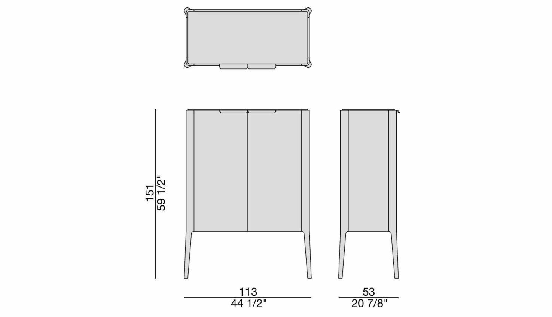 Atlante 1 Cabinet