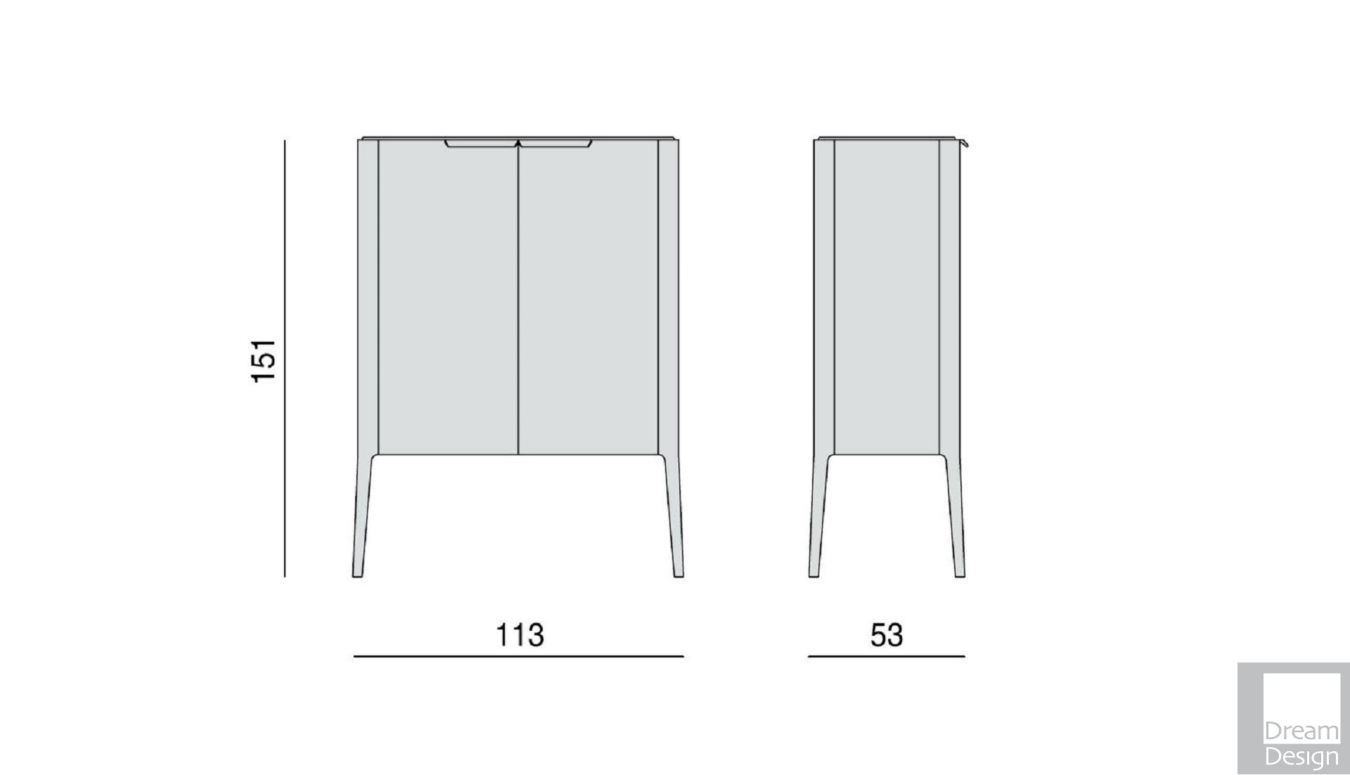 Porada Atlante 1 Cabinet