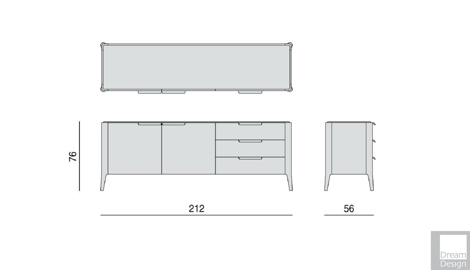 Porada Atlante 3 Cabinet
