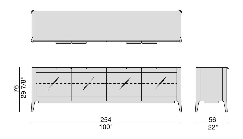 Porada Atlante 5 Sideboard