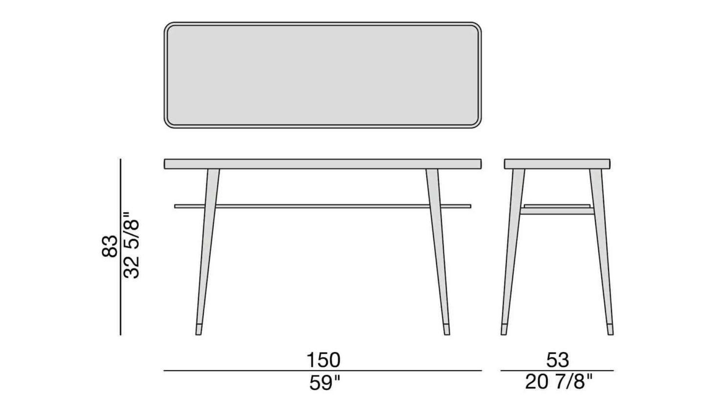 Chantal Console Table