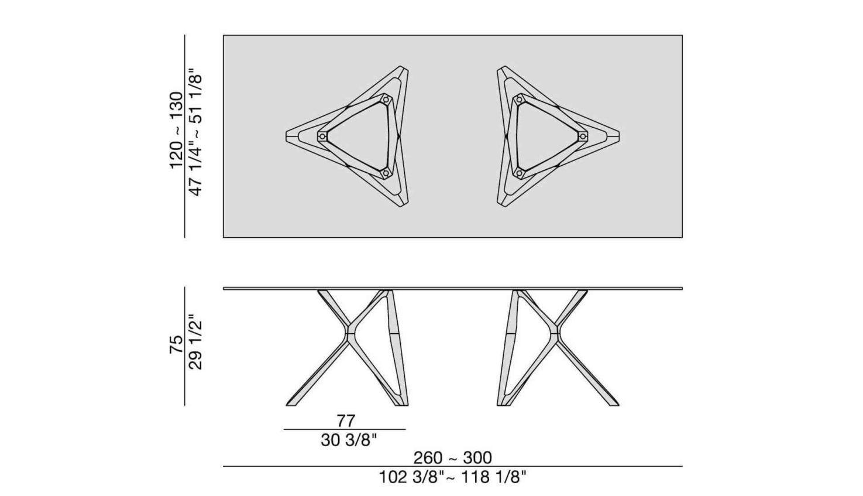 Circe Rectangular Table