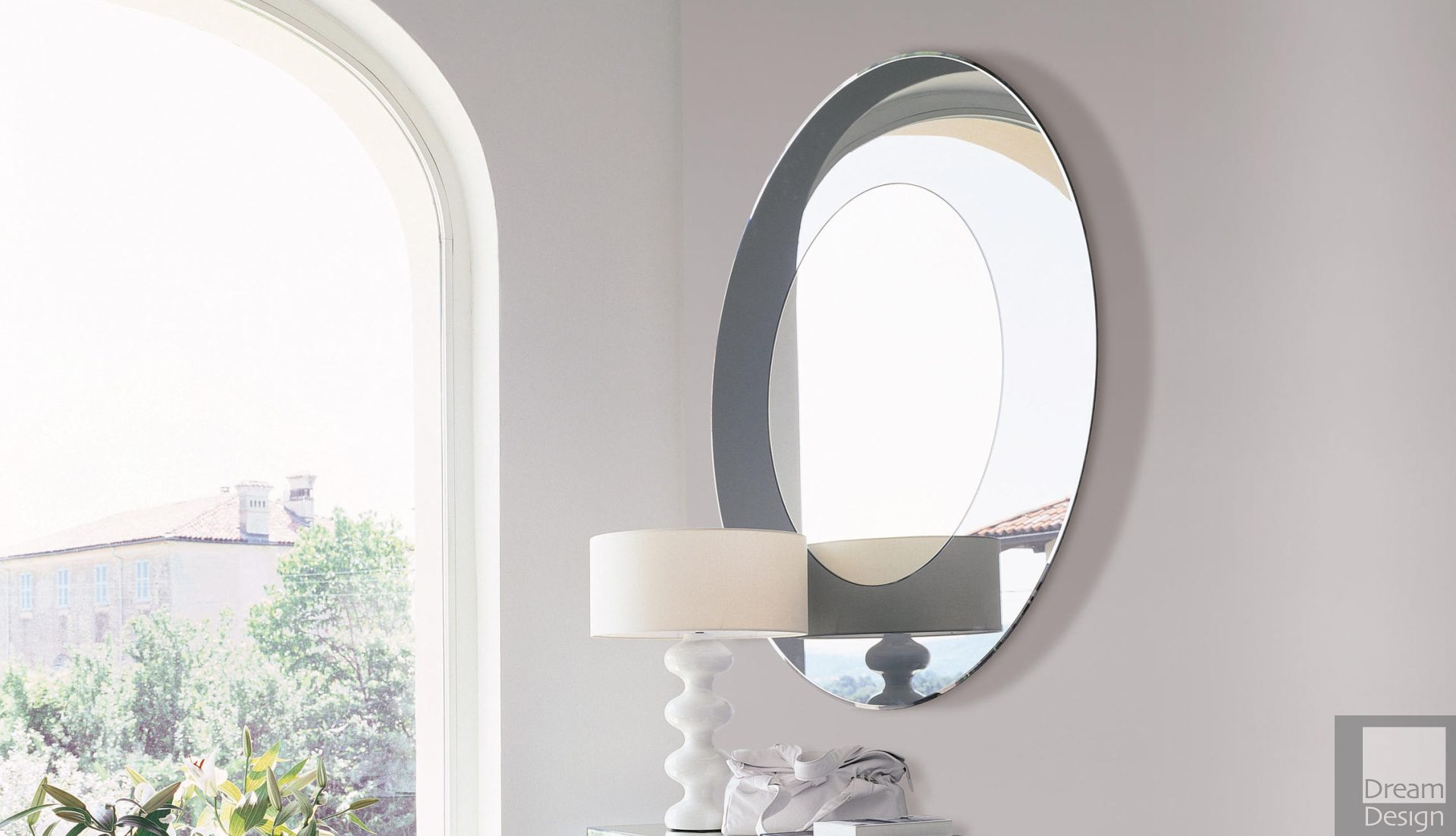 Porada Four Season Glass Mirror