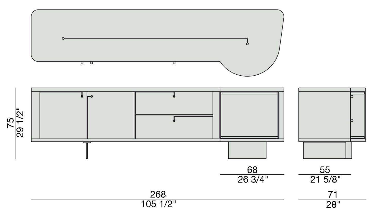 Rondo' 2 Sideboard