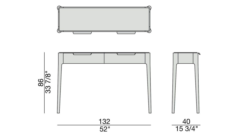 Porada Ziggy 10 Console Table