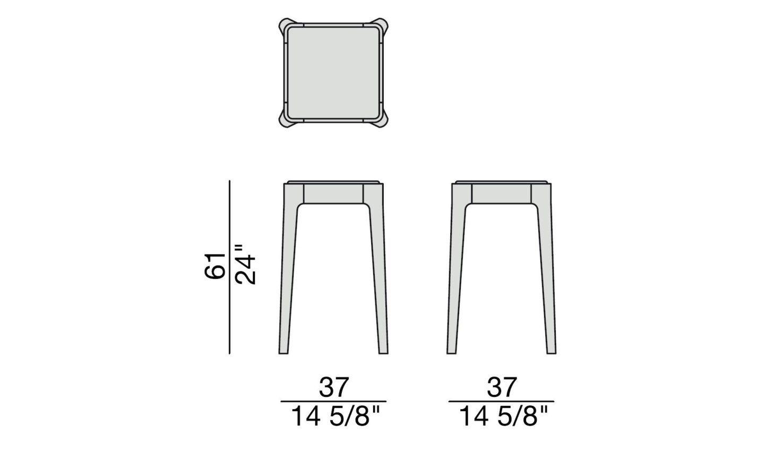 Porada Ziggy 2 Side Table