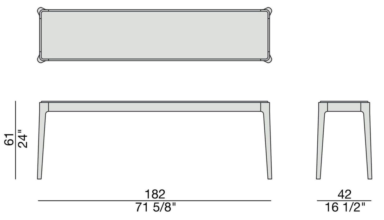 Ziggy 4 Console Table