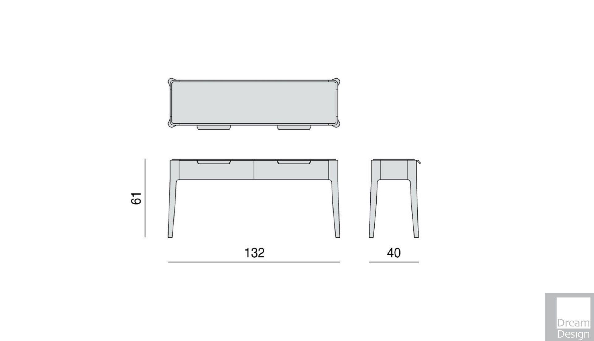 Porada Ziggy 9 Console Table