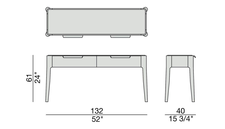 Ziggy 9 Console Table