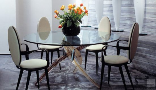 Reflex Angelo Fili D'erba Dining Table Designed by Tulczinsky