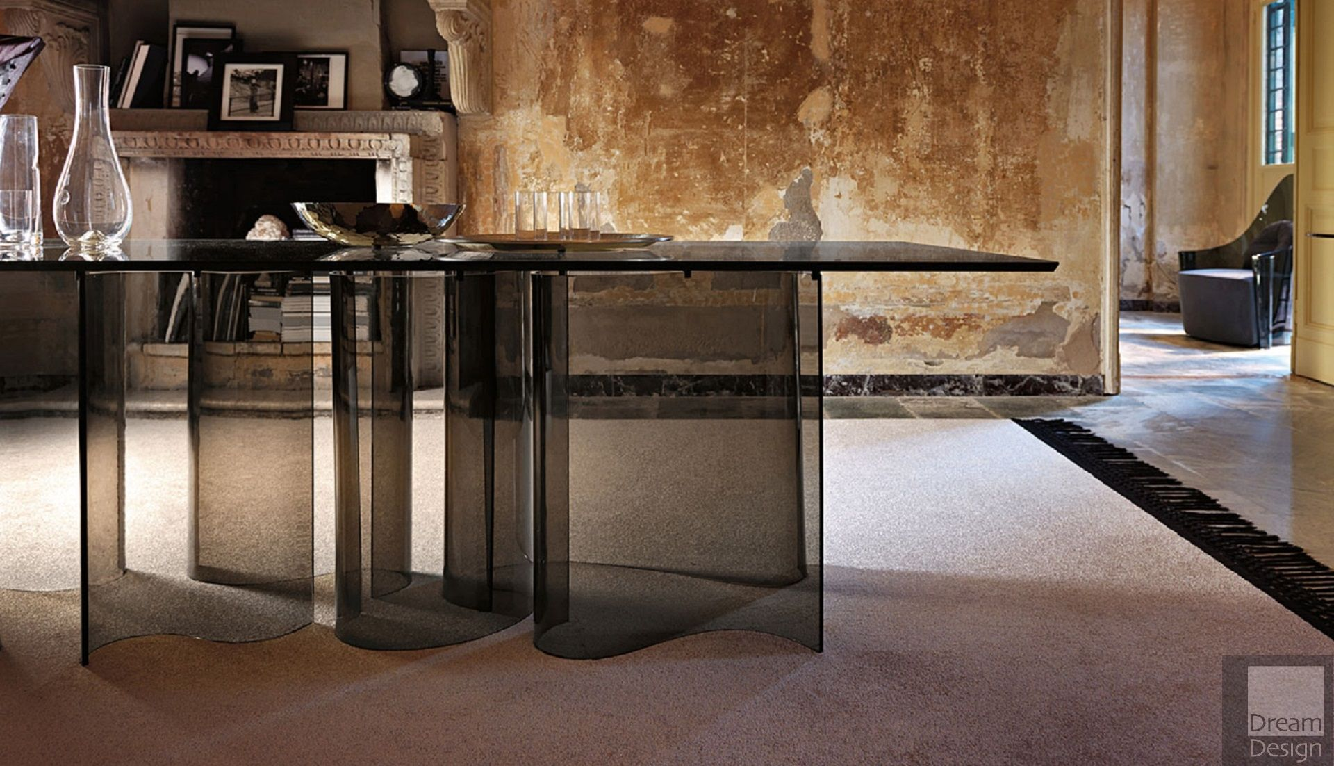 Veblen Arabesque Rectangular Table By Marzia Amp Leonardo Dainelli Everything But Ordinary