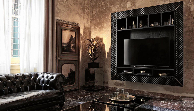 Veblen Napoleon TV Cabinet